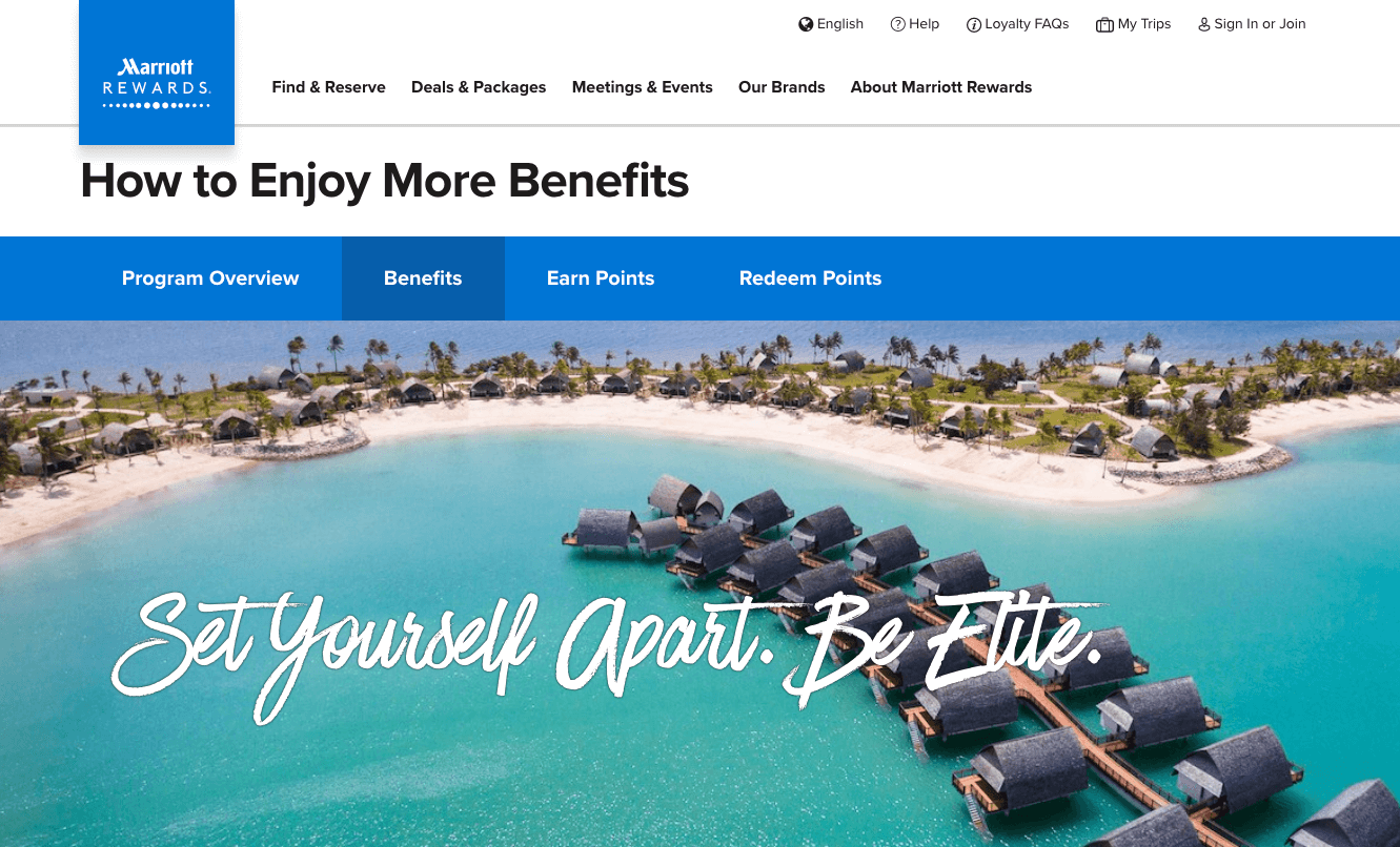 6 Strategies for a Creative Loyalty Program - marriott