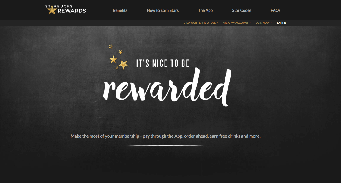 The Best eCommerce Loyalty Programs -  Starbucks