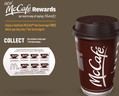 Exclusive Loyalty Program McCafe