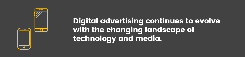 digital advertising changing landscape