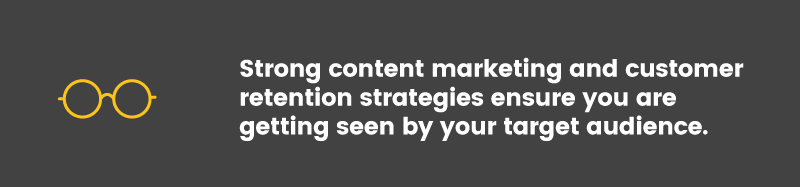 digital advertising strong content marketing