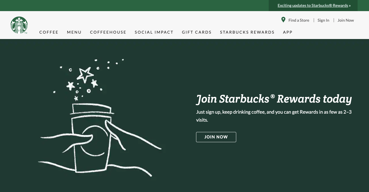 Examples Food and Beverage - starbucks home