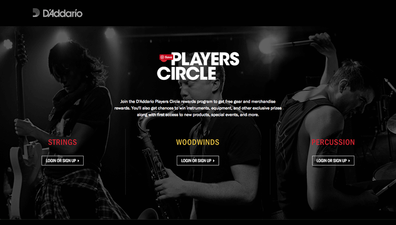 D'Addario players circle explainer page