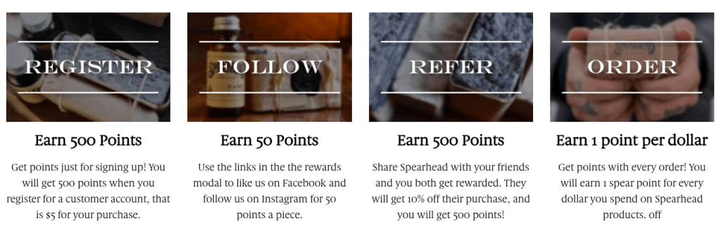 shopify loyalty program banner