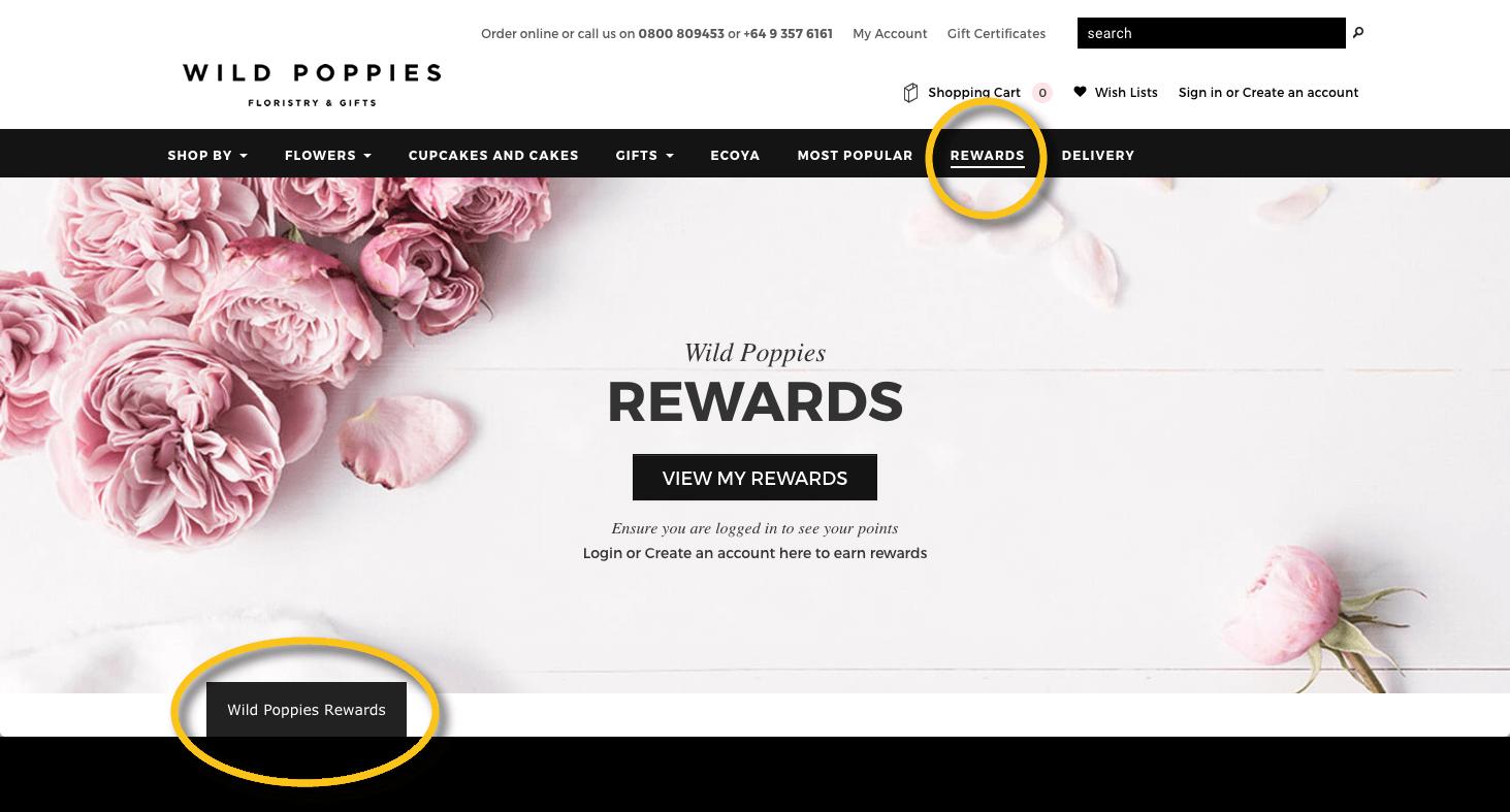 customer motivations wild poppies