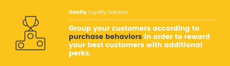 customer motivations vanity takeaway