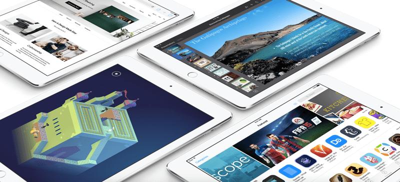 apple ipad functionality