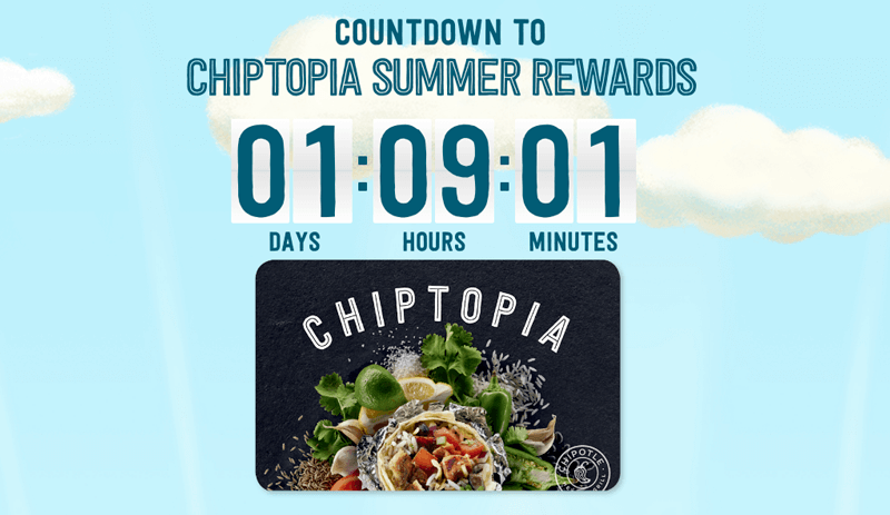 chiptopia countdown clock