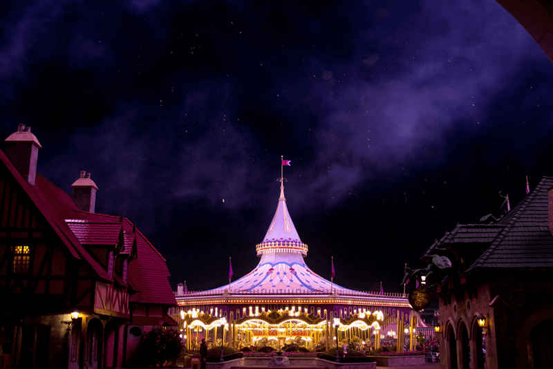 walt disney world magic kingdom fantasyland carousel