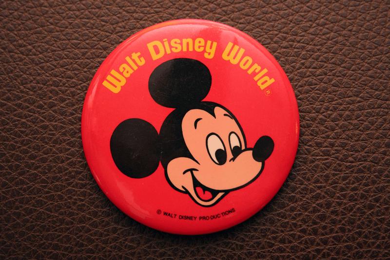 walt disney world mickey button