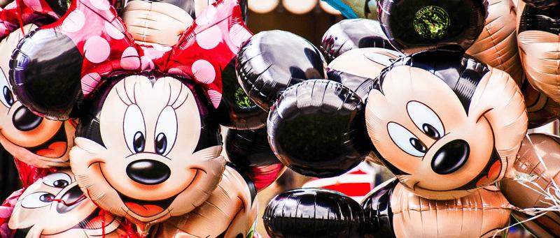 walt disney world mickey minnie balloons