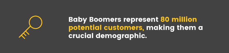 designing loyalty programs for baby boomers demographic