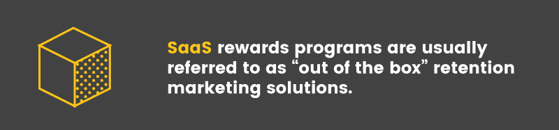 start a loyalty program saas rewards