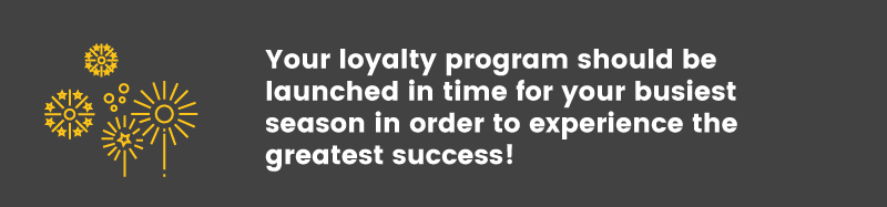start a loyalty program fireworks