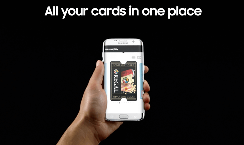 samsung rewards cards in one place