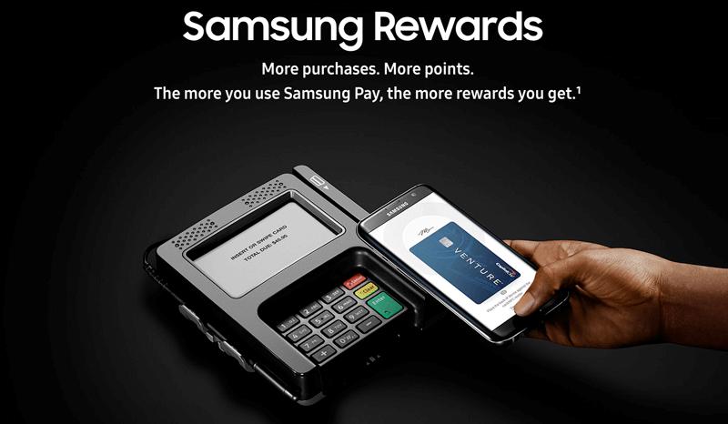 samsung rewards homepage