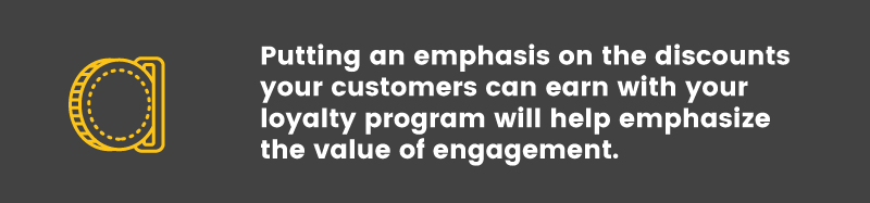 Loyalty Program in the Food and Beverage Industry engagement