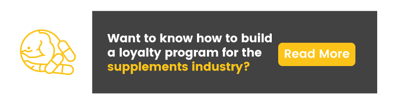 loyalty program in the supplements industry supplements CTA