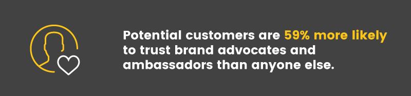 brand advocates ambassador trust