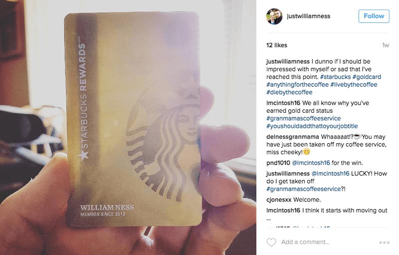 Starbucks Rewards Gold Level