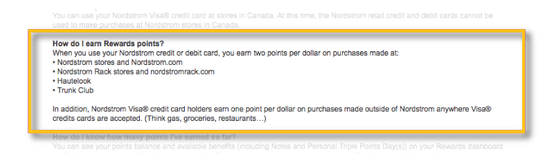 nordstrom rewards earn card rewards