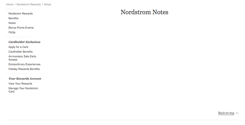 nordstrom rewards notes