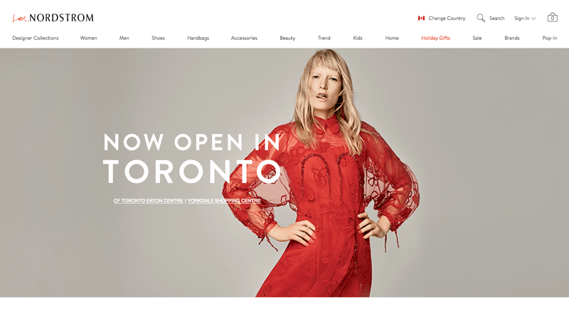 nordstrom rewards toronto