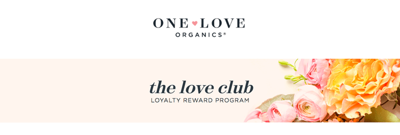 ecommerce loyalty pages one love organics