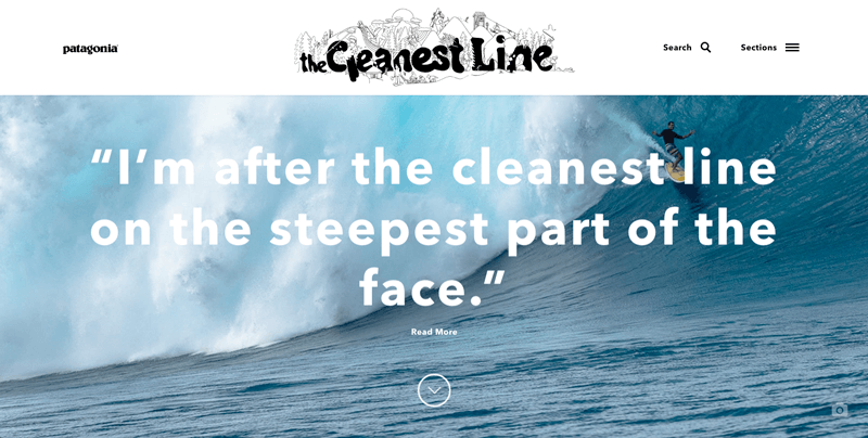 patagonia the cleanest line