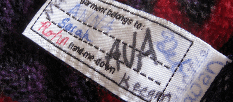 patagonia worn wear label