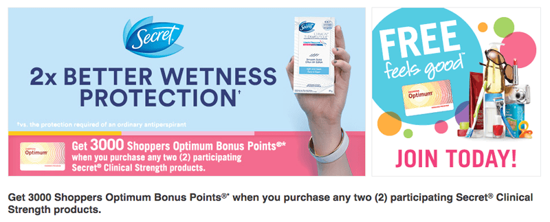 shoppers optimum huge rewards