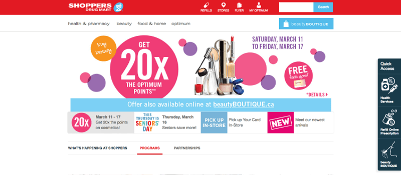 shoppers optimum homepage
