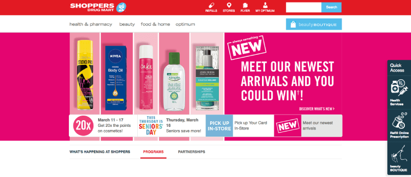 shoppers optimum homepage 2