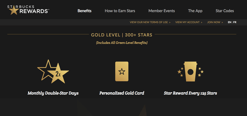 future of loyalty programs starbucks gold