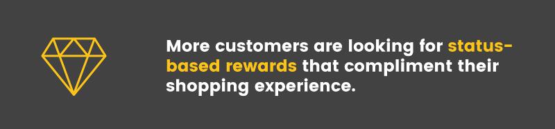 future of loyalty programs status based rewards