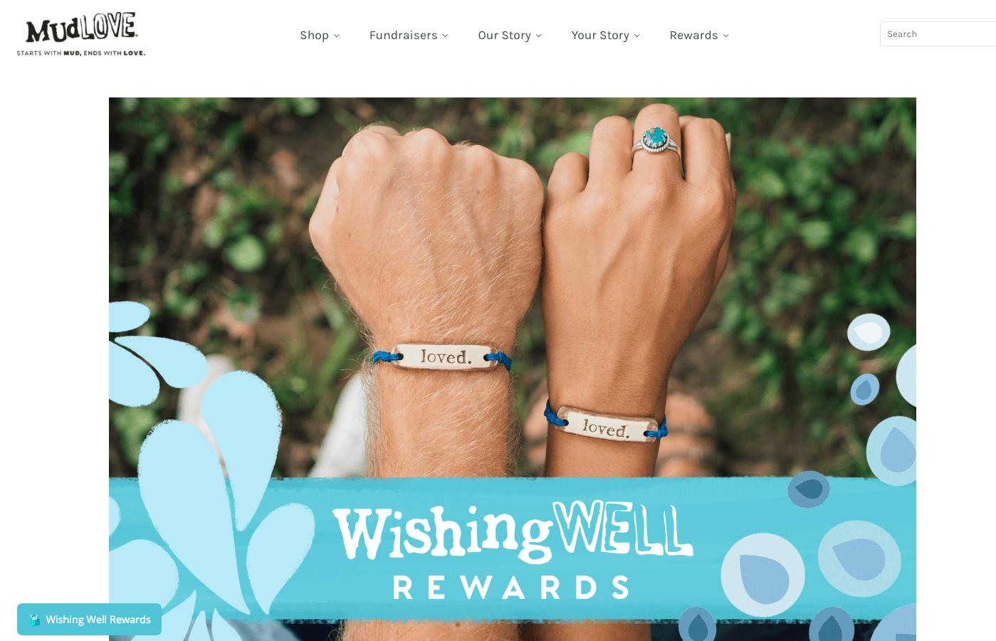 Best Rewards of 2018 - MudLOVE Wishing Well Rewards home