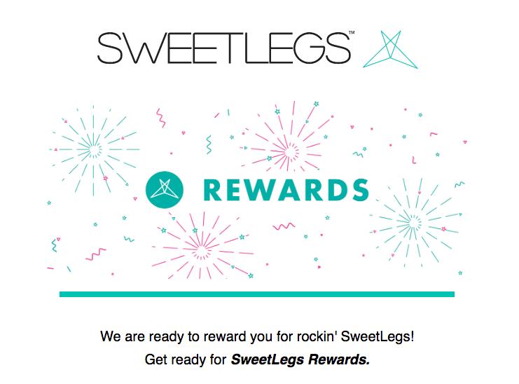 Best Rewards of 2018 - Sweetlegs Rewards Announcement