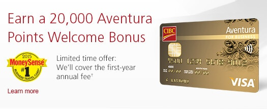 welcome points credit card bonus