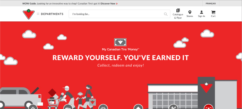 men want in a loyalty program canadian tire home