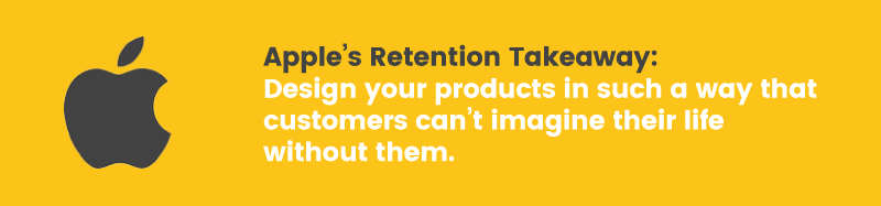 apple doesn't have a loyalty program retention takeaway lock in