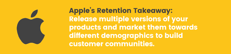 apple doesn't have a loyalty program retention takeaway demographics
