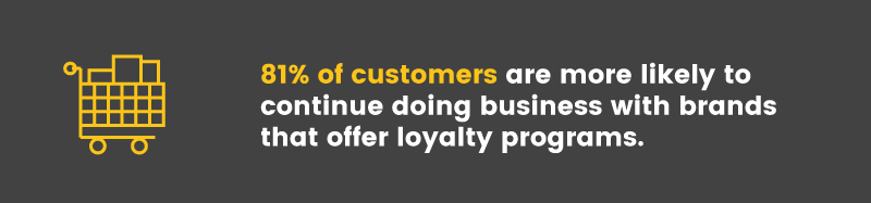 launch a loyalty program customers want loyalty