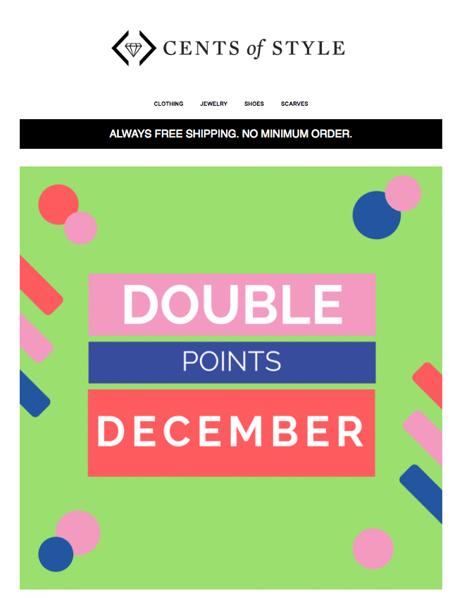 10 reasons customers abandon program - CentsofStyle-Christmas-Double-Points