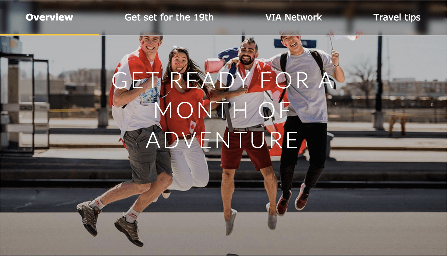 Via Rail gave customers the best reward of the summer with the Canada 150 pass