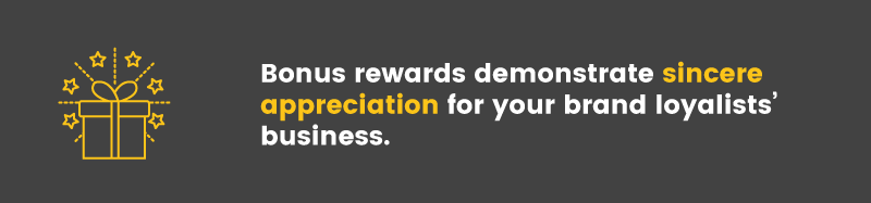 customer segmentation brand loyalists bonus rewards appreciation