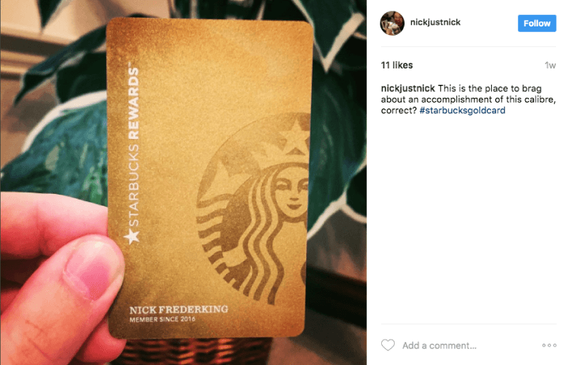 customer segmentation brand loyalists vip starbucks card