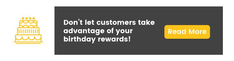 customer segmentation savvy opportunists birthday reward fraud CTA