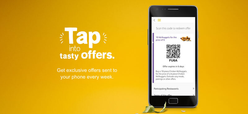 Tap Into Tasty Offers From McDonald's