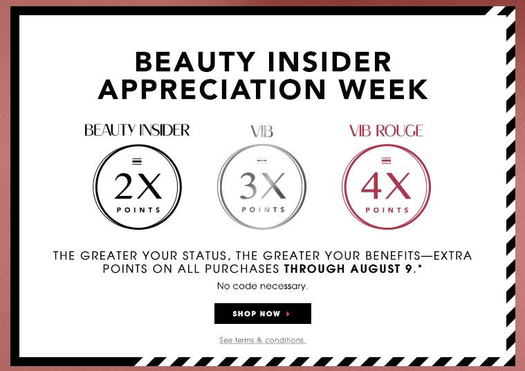 Sephora Beauty Insider Appreciation Event