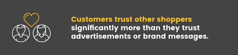 christmas rush customer trust